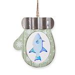 Ocean Triggerfish Mitten Ornament