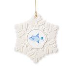Ocean Triggerfish Snowflake Ornament