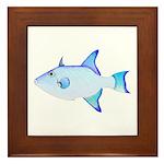 Ocean Triggerfish Framed Tile
