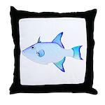Ocean Triggerfish Throw Pillow