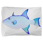 Ocean Triggerfish Pillow Sham