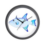 Ocean Triggerfish Wall Clock