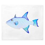 Ocean Triggerfish King Duvet