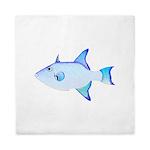 Ocean Triggerfish Queen Duvet