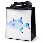 Ocean Triggerfish Reusable Grocery Tote Bag