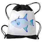 Ocean Triggerfish Drawstring Bag