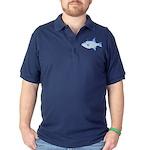 Ocean Triggerfish Dark Polo Shirt