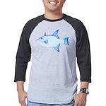 Ocean Triggerfish Mens Baseball Tee