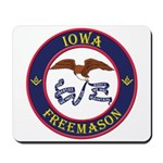 Iowa Masons Mousepad