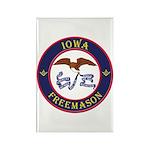 Iowa Masons Rectangle Magnet (10 pack)