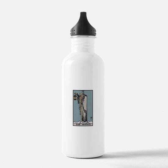 The Hermit Tarot Water Bottle