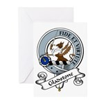 Gladstone Clan Badge Greeting Cards (Pk of 10)
