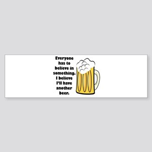 another beer Sticker (Bumper)