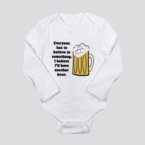 another beer Long Sleeve Infant Bodysuit