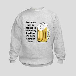 another beer Kids Sweatshirt