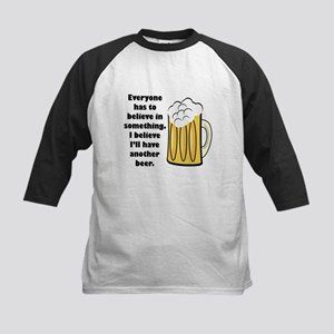 another beer Kids Baseball Jersey