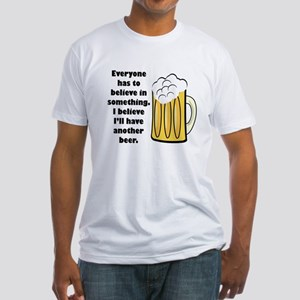 another beer Fitted T-Shirt