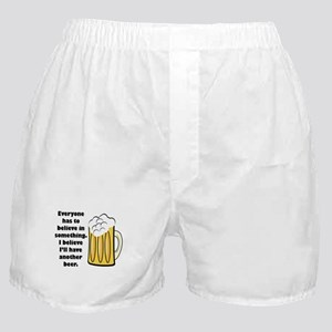 another beer Boxer Shorts