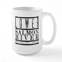 Lower Salmon River Large Mug