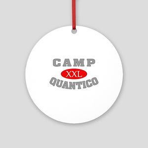 Camp Quantico Spy Ornament (Round)