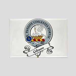 Gibson Clan Badge Rectangle Magnet (10 pack)