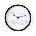 Horn Dog Wall Clock
