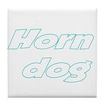 Horn Dog Tile Coaster
