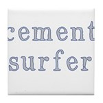 Cement Surfer Tile Coaster