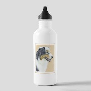 Australian Shepherd Stainless Water Bottle 1.0L