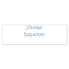 Hooter Inspector Sticker (Bumper 10 pk)