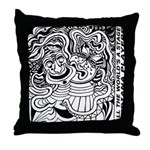 World's A Stage *IP Throw Pillow