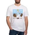 Turkey Decoy Fitted T-Shirt