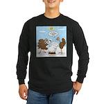 Turkey Decoy Long Sleeve Dark T-Shirt