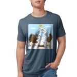 Turkey Decoy Mens Tri-blend T-Shirt