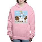 Turkey Decoy Women's Hooded Sweatshirt