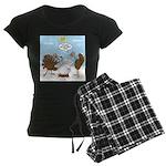 Turkey Decoy Women's Dark Pajamas