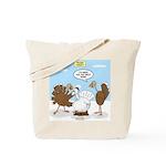 Turkey Decoy Tote Bag