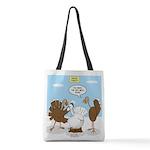 Turkey Decoy Polyester Tote Bag