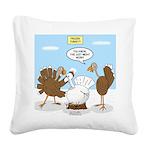 Turkey Decoy Square Canvas Pillow