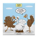 Turkey Decoy Tile Coaster