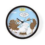 Turkey Decoy Wall Clock