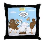 Turkey Decoy Throw Pillow