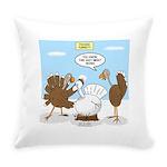 Turkey Decoy Everyday Pillow