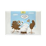Turkey Decoy Rectangle Magnet (10 pack)