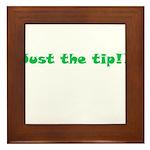 Just The Tip!! Framed Tile