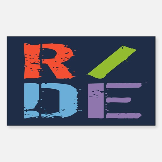 R/DE II Sticker (Rectangle)