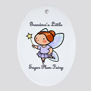 Grandpa's Sugar Plum Fairy Ornament (Oval)
