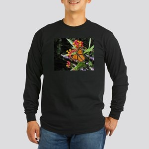 Butterflies of Hope Long Sleeve Dark T-Shirt