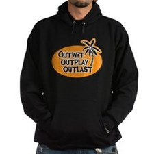 Outwit Outplay Outlast Hoodie (dark)