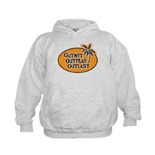 Outwit Outplay Outlast Kids Hoodie